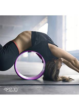 Колесо для йоги та фітнесу 4FIZJO Dharma 4FJ1455 Pink, фото 2