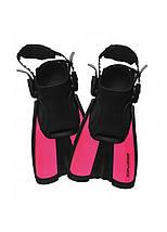 Ласті SportVida SV-DN0008JR-S Size 29-33 Black/Pink, фото 3