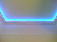 Прокладка светодиодной ленты в алюминиевом профиле