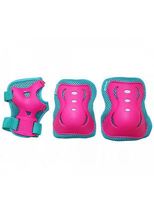 Комплект захисний SportVida SV-KY0002-S Size S Blue/Pink, фото 2