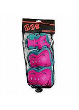 Комплект захисний SportVida SV-KY0002-S Size S Blue/Pink, фото 3