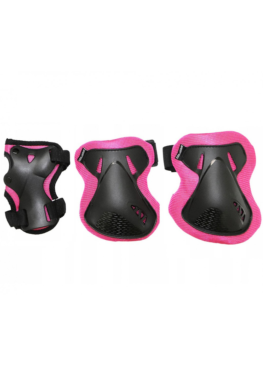 Комплект захисний SportVida SV-KY0006-M Size M Black/Pink