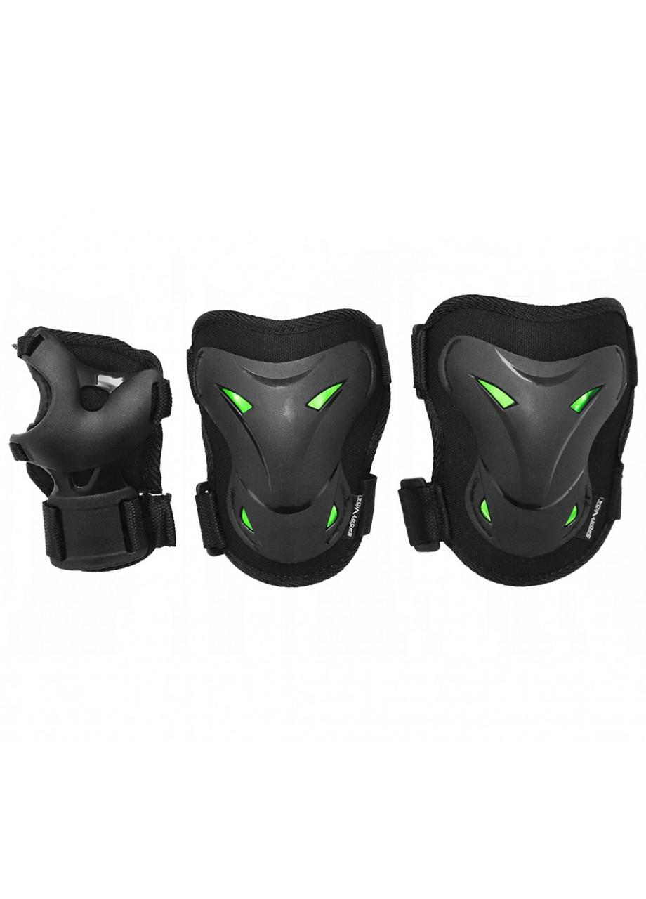 Комплект захисний SportVida SV-KY0004-L Size L Black/Green