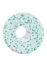Масажний ролик (валик, роллер) гладкий 4FIZJO EPP MED+ 33 x 14 см 4FJ0053 White/Green, фото 2
