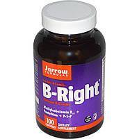 Комплекс витаминов группы В, B=Right, Jarrow Formulas, 100 капсул
