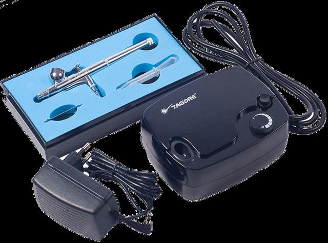 Аэрографы электрические с компрессором