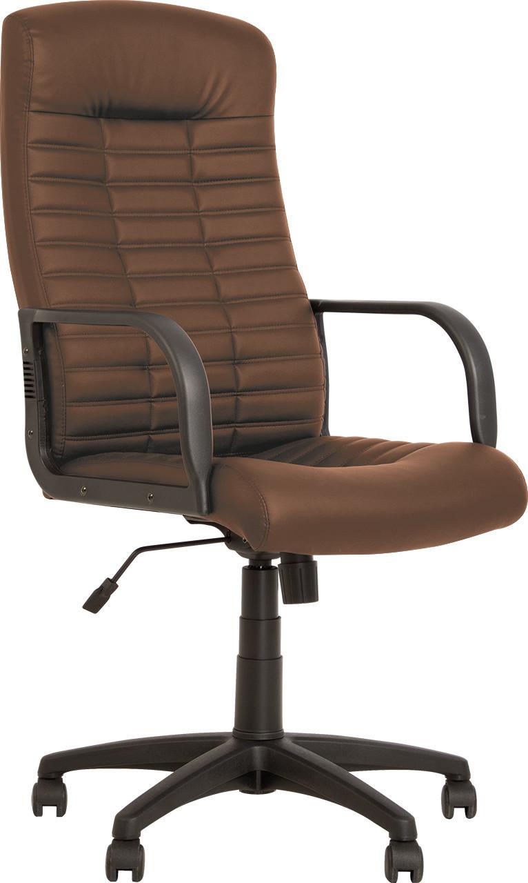 Крісло керівника Бос темно-коричневий кожзам BOSS KD TILT PL64 ECO-31 від Nowy Styl
