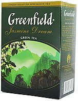 "Чай зелений Greenfield ""Жасмін Дрім"" 676 лист.картон 100гр."