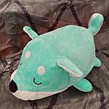 Плед іграшка подушка 3 в1 Вовк   Іграшка дитячий плед   Іграшки-Подушки   М'яка іграшка Коричневого кольору, фото 5