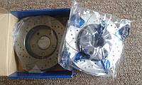 Тормозные диски Rotinger с перфорацией и насечками для Mitsubishi Lancer