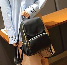 Стильний жіночий рюкзак міський міні Aliri-00123 чорного кольору