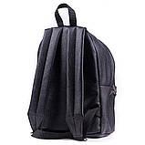 Женский городской модный рюкзак из эко кожи, черный, фото 2