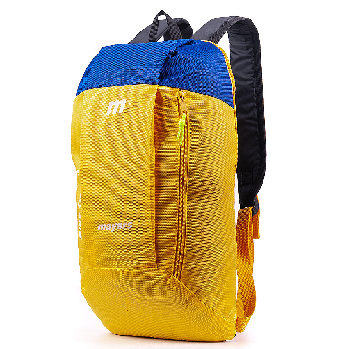 Дитячий міський повсякденний рюкзак MAYERS 10L, унісекс, жовто синій