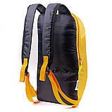 Дитячий рюкзак міський молодіжний унісекс MAYERS 10L, жовто-рожевий, фото 2