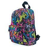 Женский молодежный стильный рюкзак, принт бабочки, 7.5 л, фото 2