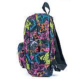 Женский молодежный стильный рюкзак, принт бабочки, 7.5 л, фото 3