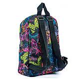 Женский молодежный стильный рюкзак, принт бабочки, 7.5 л, фото 4