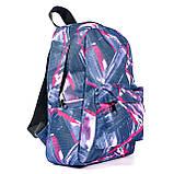 Молодежный городской женский рюкзак, с абстрактным рисунком, 7.5 л, фото 3