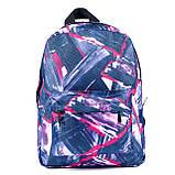 Молодежный городской женский рюкзак, с абстрактным рисунком, 7.5 л, фото 4