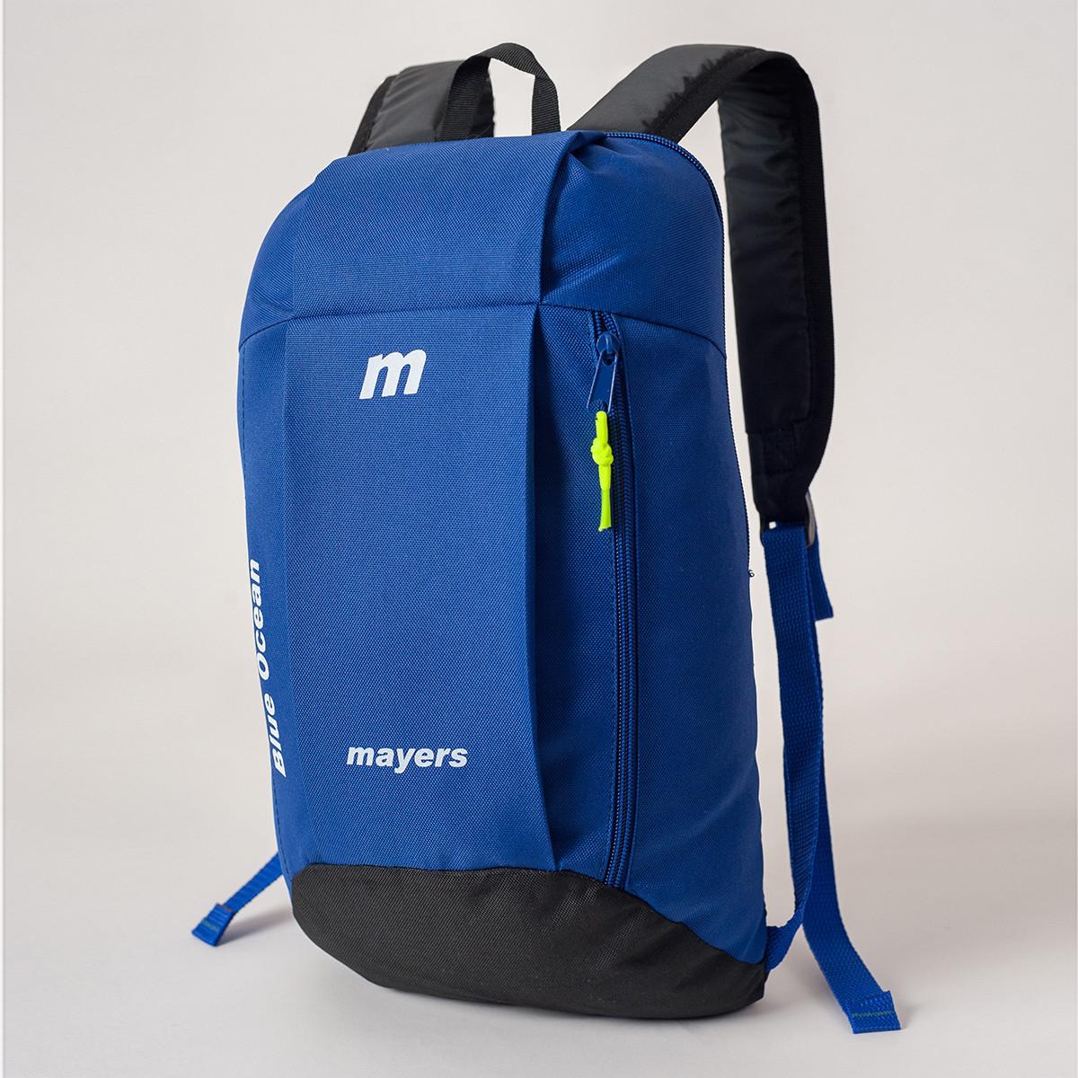 Спортивный детский городской рюкзак унисекс MAYERS 10L, синий