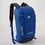 Спортивный детский городской рюкзак унисекс MAYERS 10L, синий, фото 2