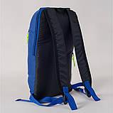 Спортивный детский городской рюкзак унисекс MAYERS 10L, синий, фото 3