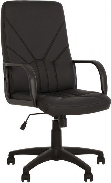Кресло руководителя Менеджер черный кожзам BOSS KD TILT PL64 ECO-30 от Nowy Styl