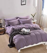 Комплект постельного белья размер полуторный сатин однотонный Bella Villа B-0212