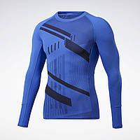 Чоловіча компресійна футболка Reebok Printed Compression(Артикул:GJ6383 )