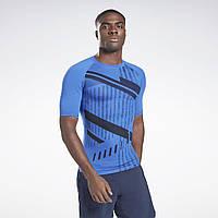 Чоловіча компресійна футболка Printed Compression Top(Артикул:GJ6378)