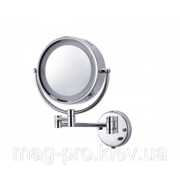 Зеркало косметическое с увеличением и подсветкой