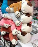 Плед игрушка подушка 3 в1 Собачка   Игрушка детский плед   Игрушки-Подушки   Мягкая игрушка Оранжевого цвета, фото 8
