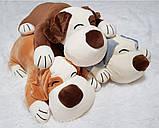Плед игрушка подушка 3 в1 Собачка   Игрушка детский плед   Игрушки-Подушки   Мягкая игрушка Оранжевого цвета, фото 9