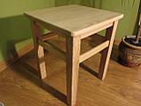 Деревянная табуретка (массив БУКА), фото 3