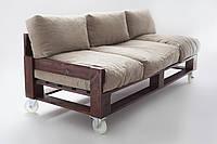 Диван, кресла и журнальный столик из поддонов Херсон на заказ