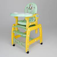 Стульчик, кресло для кормления Avko AHC-223 Green-Yellow