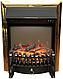Пристінний каминокомплект Fireplace Чехія Білий ефект мерехтливих дров зі звуком і обігрівом, фото 5