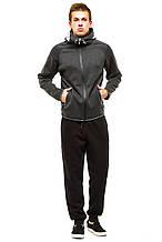 Кофта от костюма 374 темно-серый 48