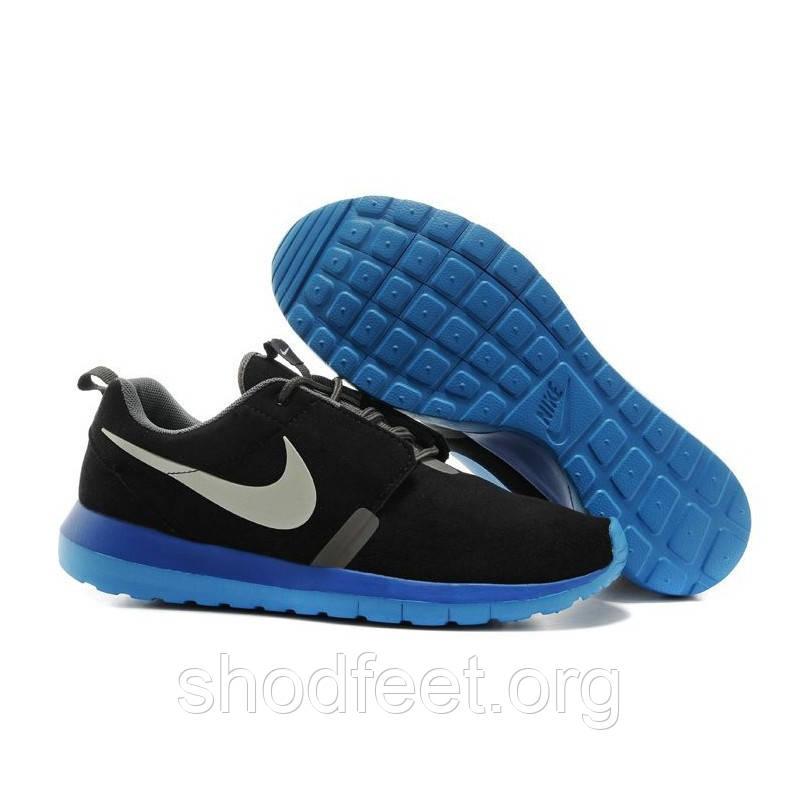 Мужские кроссовки Nike Roshe Run NM BR Black/Blue