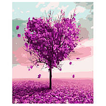 Картина по Номерам Дерево влюбленных мечт 40х50см Strateg