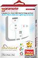 Кабель Promate linkMate-Trio USB-Lightning/30-pin/microUSB 1 м White, фото 2
