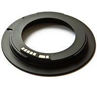 Адаптер переходник M42 - Canon EOS, AF чип Ulata черный