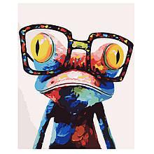 Картина по Номерам Лягушонок в очках 40х50см Strateg