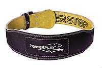 Пояс для важкої атлетики PowerPlay 5085 Чорно-Жовтий S, фото 1