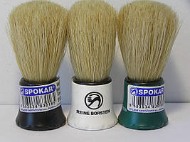 Помазок для бритья Spokar маленький натуральный ворс (Спокар)