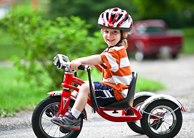 Детские велосипеды: двухколесные и трехколесные