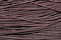 Шнур 2мм (100м) т. коричневый