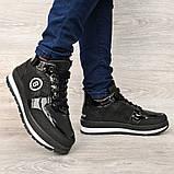Женские зимние ботинки - кроссовки черные (БТ-15ч), фото 2
