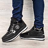 Женские зимние ботинки - кроссовки черные (БТ-15ч), фото 3