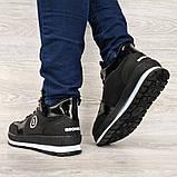 Женские зимние ботинки - кроссовки черные (БТ-15ч), фото 4